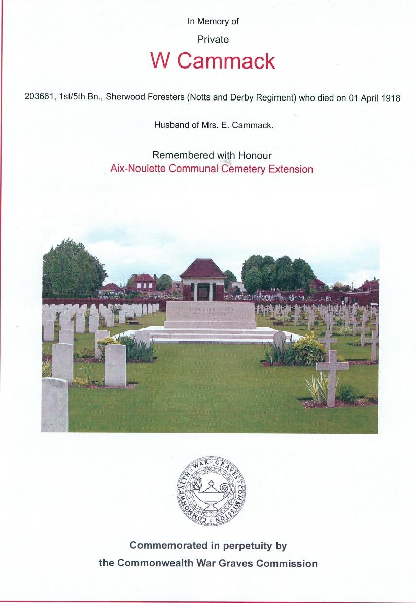 Walter Cammack war memorial 2
