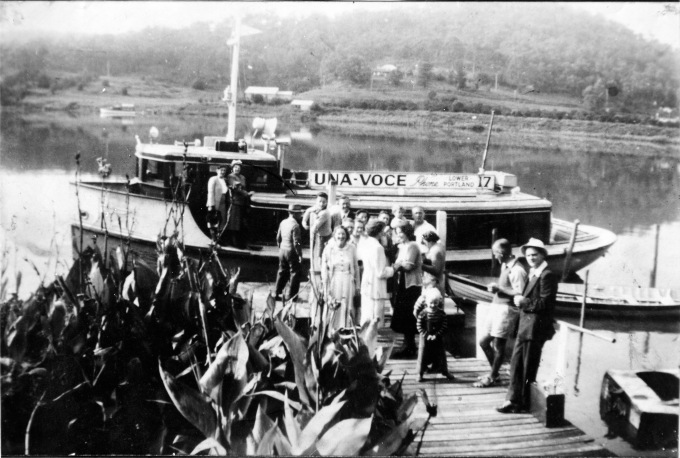 Una Voce launch c1930s