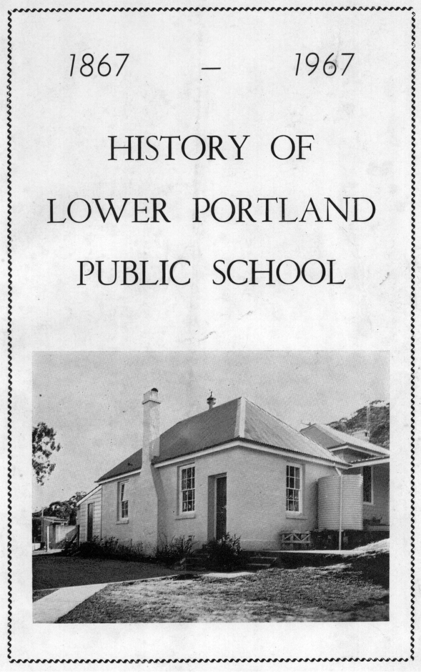 Lower Portland Public School History