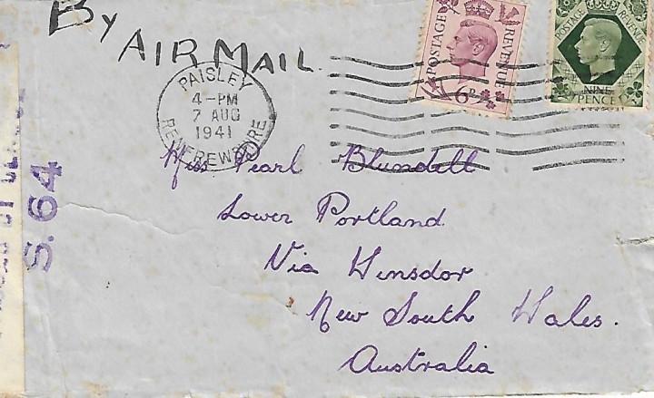 envelope Pearl Blundell